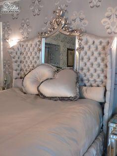 Luxury bedroom - Hollywood style