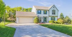 *SOLD* 11420 W Woods RD Franklin, WI; $281,000, MLS#1477308. Lovingly Well Maintained, 3BED/2.5BA in Whitnall School District. Fall in love w/ gorgeous landscaping, ample RM sizes & NICE location. Main Floor boasts spacious eat in KIT w/ center island, SS appliances, formal Dine RM, huge LR w/ NFP, & updated 1/2 bath. Upstairs you'll find Master suite w/ full BA w/ updated granite! , walk-in closet. Partial Finish in LL w/8Ft+ ceilings, Furnace '10, Water Heater '08 & Newer Fixtures
