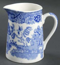 Wedgwood China Blue Willow creamer