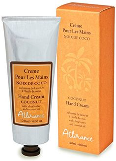 Attirance  Hand Cream  Coconut  4oz  All Natural with Coconut Oil Honey Extract  Shea Butter >>> Details can be found by clicking on the image.