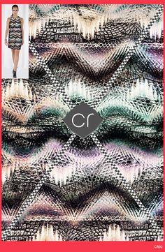 Coleção criada para o Trabalho de Conclusão do curso de Pós-Graduação em Criação de Estampa Têxtil da FACAMP. O objetivo era criar estampas para a marca nacional Shoulder, usando como referência tendências de desfiles internacionais e analisando as últimas coleções de verão que estiveram nas lojas. As estampas foram aplicadas no Photoshop em uma das imagens de divulgação da marca. #print #design #pattern #inspiration #missoni #chanel #resort2016