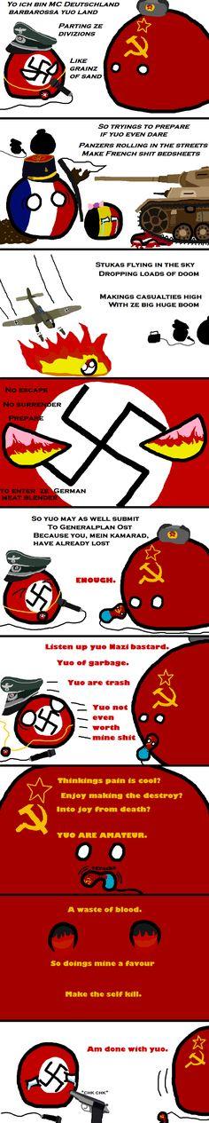 War of Words   Polandballs Countryballs