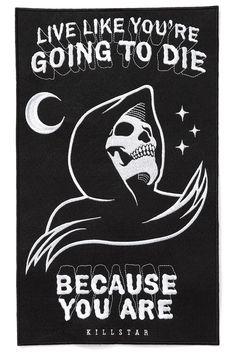 Certain Death Back Patch [B] | KILLSTAR