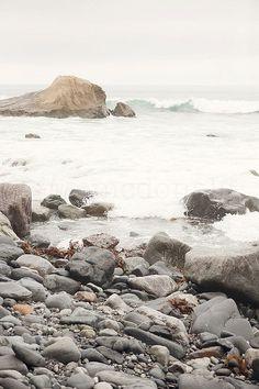 Crash Into Me Photographic Print Beach Coastal by artbycmcdonald