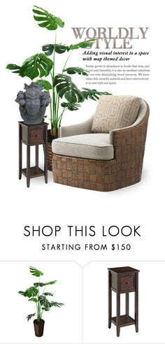 """""""Head Strong   Stefania Boemi Head Vases 3650"""" by boxthoughts ❤ liked on Polyvore featuring interior, interiors, interior design, home, home decor, interior decorating, Pier 1 Imports and contestentry"""