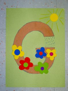 activities for the letter g preschool - Google Search *G is for garden. Garden would also be good to learn colors & for a sensory bin for colors & the letter G.*