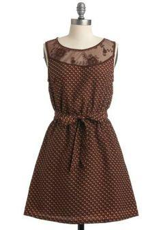Vestido sencillo y muy bonito!
