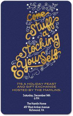 Christmas card for Evite Postmark - by Cindy Lee-Tsu