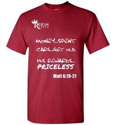 Priceless T-Shirt(White Print)