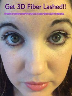 3D Fiber Lash Mascara  www.youniqueproducts.com/BethanyLeBeau  #fablashes #3DFiberLashes #Younique #Amazingness