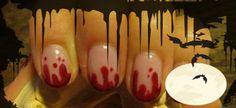Uñas con sangre