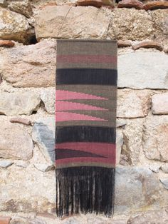 Handwoven wall hanging/ Weaving/ Tapestry/ Fiber art by LaTorna