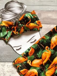 Excited to share the latest addition to my #etsy shop: Summer tropical handmade bandana head wrap knot headband orange black flamingo #pinuprockabilly #flamingo #headwrap #rockabilly #knottedheadband #hairaccessories Rose Pink Hair, Pink Roses, Champagne Hair, Bandana Head Wraps, Pink Lipsticks, Knot Headband, Hair Ties, Printed Cotton, Rockabilly