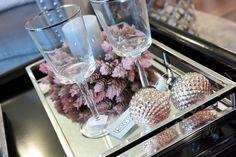 MINT GREY New York Style Interiors | produkty - dekoracje świąteczne Bombka CONE Pink; Christmas Ornament
