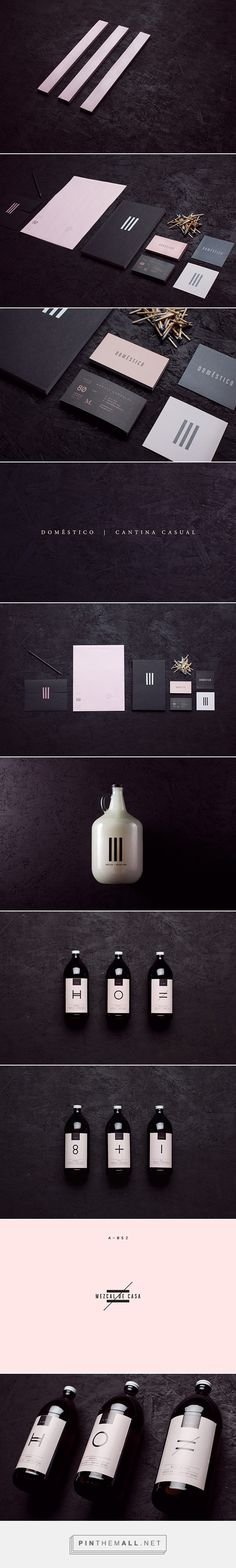 Doméstico Mexican Saloon Branding by Futura | Fivestar Branding Agency – Design and Branding Agency & Curated Inspiration Gallery