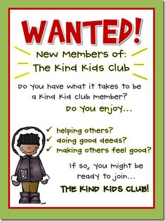 Such a cute Idea- random acts of kindness FREEBIE - Active Engagement Teaching Resources - Kids Playhouse Elementary School Counseling, School Social Work, School Counselor, Elementary Schools, School Teacher, Teaching Kindness, Kindness Activities, Kindness Projects, Kindness Ideas