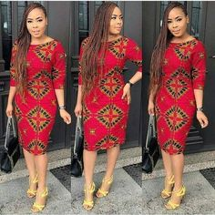 ankara mode This beautiful dress is handmade with quality guaranteed African print wax. It is is fully lined and has zipper closure at the back It takes business days to produce and 3 African Print Dresses, African Print Fashion, Africa Fashion, African Fashion Dresses, African Dress, Fashion Outfits, Fashion Advice, Fashion Ideas, African Outfits