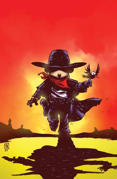 The Dark Tower: The Drawing Of The Three – The Prisoners #1 comes from Skottie Young