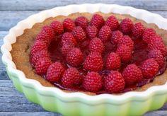 Raspberry Tart  @lisa Choe Food Forager