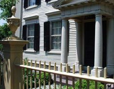 Visit The McIntire Historic District In Salem, MA | PEM Colonial Revival Architecture, Residential Architecture, Historic Homes, Pergola, Outdoor Structures, House Design, Outdoor Decor, American, Historic Houses