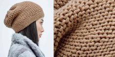 The easy knitting hat - Gomes - - Le bonnet facile a tricoter The big warm and comfortable hat you want this winter, it& a simple rectangle in foam point tightened at one end. Fun and fast to knit. One size The . Easy Knit Hat, Easy Knitting, Knitted Hats, Knitting Patterns, Crochet Hats, Hat Patterns, Kids Knitting, Beginner Knitting, Cable Knitting