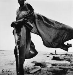 Le Vent Sur le Fleuve  photo by Bernard Descamps, Le Don du Fleuve, Mali series, 1998