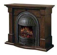 Dimplex - Fireplaces » Flat-walls » Brockton Electric Fireplace