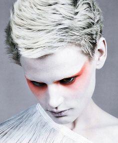"""It's a Matter of Shape"" Vogue Italia February 2014,  Saskia de Brauw by Craig McDean"
