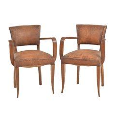 Clint Leather Bridge Chair
