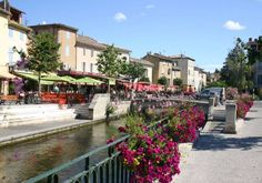 Isle sur la Sorgue, the Venice of the Comtat Venaissin
