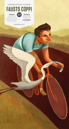 Calendario Fausto Coppi 2014 #palliative