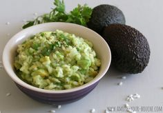 Avocado risotto - Amuse Your Bouche.  Bet I could adapt this to Orzo...