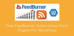 3 Free Feedburner Subscription Form Plugins For WordPress   What if you want to automate the way your readers are notified of your new blog posts? You want it to be easy to both you and the readers and you dont have time to send a mass email to all your subscribers every time you publish a post.  Well the answer lies in RSS. RSS which means Rich Site Syndication is where you can get a feed of your blogs content. It strips down all the design and converts your site into simple text format…
