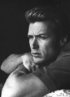 Clint Eastwood. Handsome