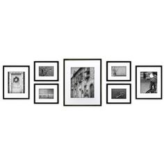 NielsenBainbridge Gallery 7 Piece Perfect Wall Picture Frame Set & Reviews | Wayfair