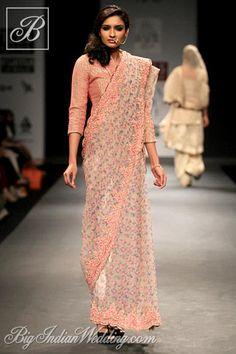 Vineet Bahl designer saree