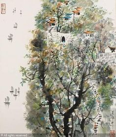 Wu Guanzhong (1919–2010) He is considered to be one of the greatest contemporary Chinese painters of all-time and founder of modern Chinese painting.