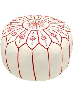Petal Power Pouf