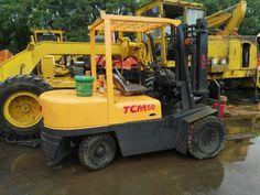 TCM FD50Z5 diesel forklift, 5 ton Japan TCM forklift
