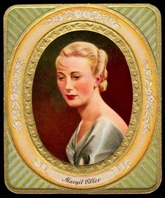 https://flic.kr/p/s2Ku6w   German Cigarette Card - Margit Edler   Garbaty's Cigarettes, Moderne Schönheits-Galerie (Gallery of Modern Beauty) c1935. #286 Margit Edler