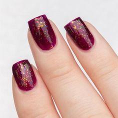 Maroon Nails, Red Nails, White Nails, Hair And Nails, Burgundy Nails, Red Nail Designs, Winter Nail Designs, Champagne Nails, Wedding Nails For Bride
