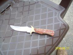 Vintage/Antique Hunting Pakistan Knife, Blade Stainless Steel #Pakistan