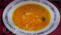 Jednoduchá mrkvová polévka | recept Thai Red Curry, Soup, Ethnic Recipes, Petra, Soups