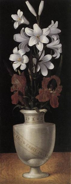 RING, Ludger tom, the Younger -Vases of Flowers 1562