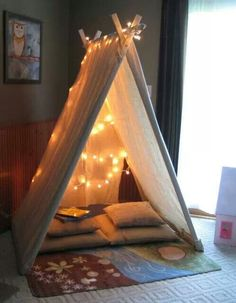 Nice Idea for a Reading Nook! ♥