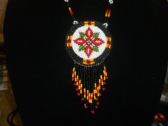 SALE ITEM .. native american necklace by deancouchie on Etsy