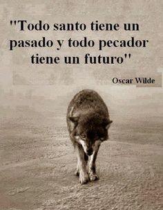 """""""Todo santo tiene un pasado y todo perdedor tiene un futuro"""" #frases #citas"""