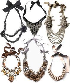 Fashion Statement Necklace crochet necklace trends 2014,2015 | Fashion Trends & Lifestyle Blog by iThinkFashion