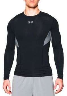 Under Armour Black HeatGear174 Coolswitch Compression Long Sleeve Shirt