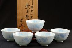 Türkiz porcelán teáscsésze készlet